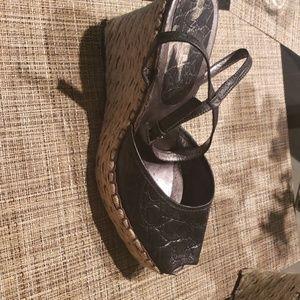 Sandals wedge espadrilles